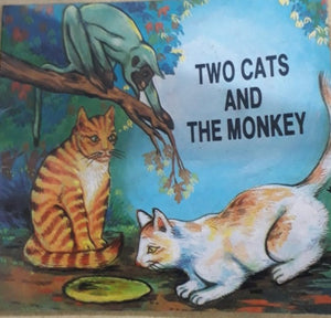 Two cats and the monkey