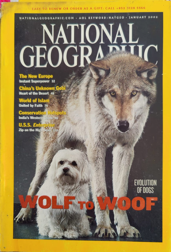 National Geographic January 2002