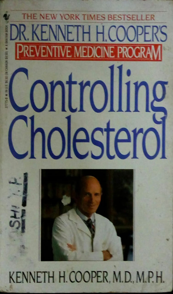 Controlling Cholestrol by Dr. Kenneth H. Coopers'
