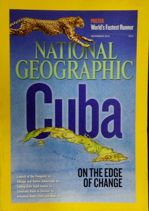 National Geographic November 2012