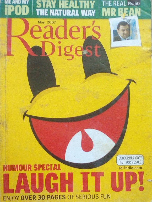 Reader's digest india may 2007