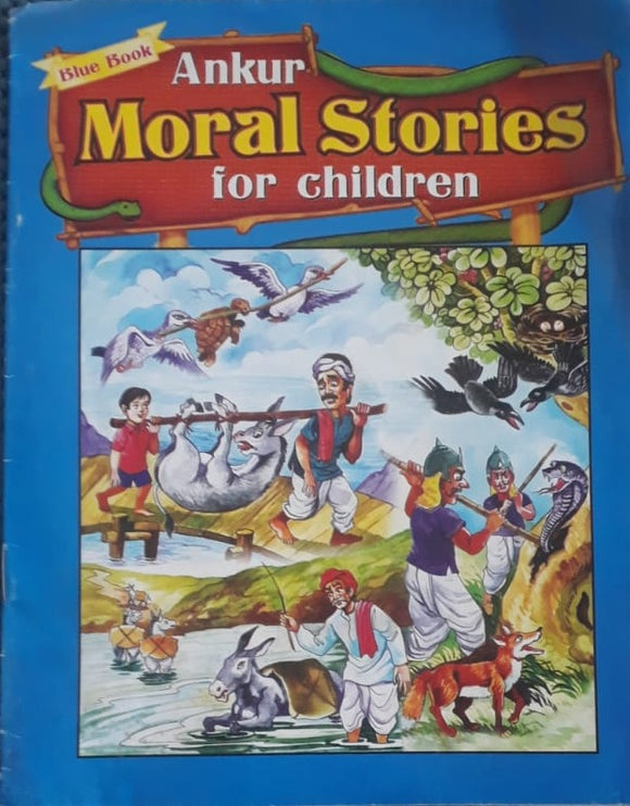 Ankur Moral Stories for Children Blue Book