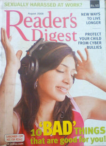 Reader's digest india august 2008
