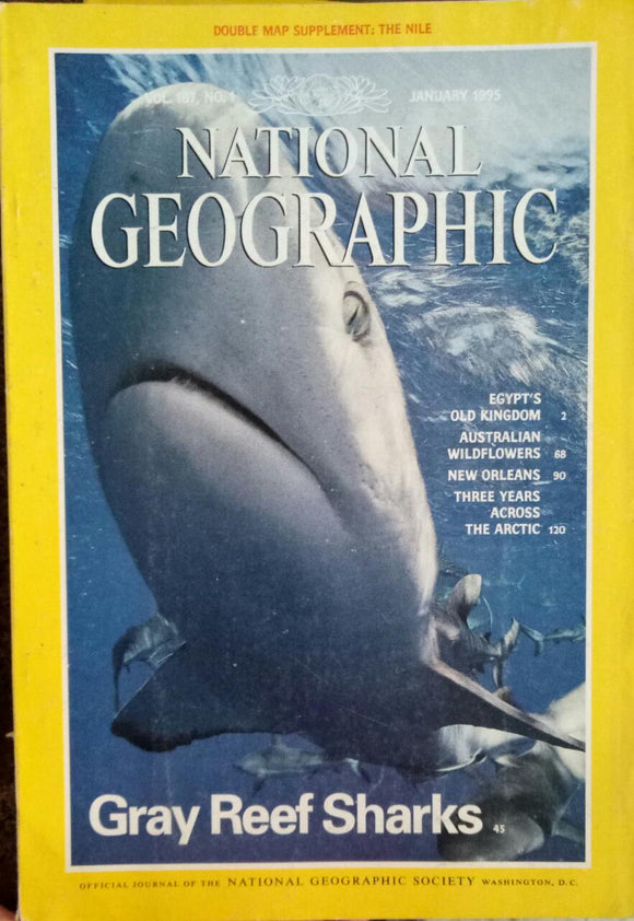 National Geographic Jan 1995