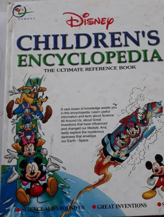 Disney' s Children Encyclopedia - The Ultimate Reference Book
