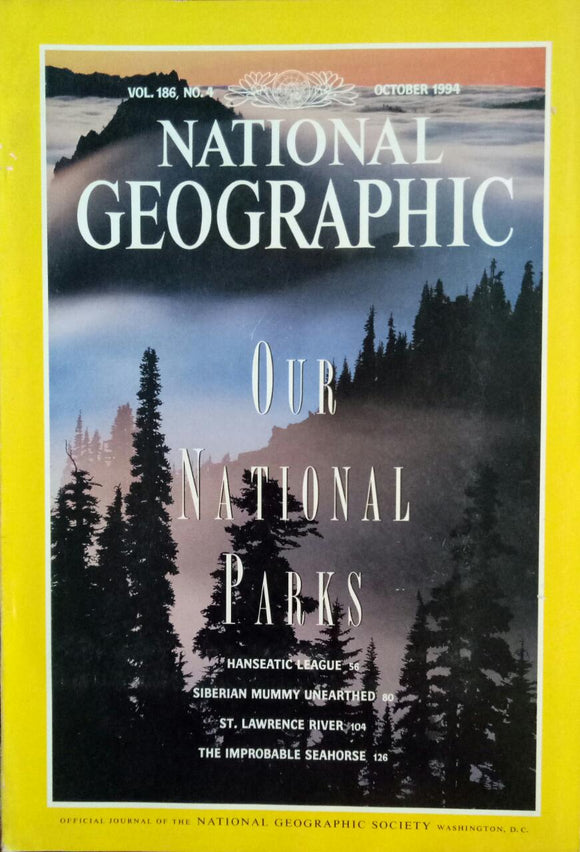 National Geographic Oct 1994