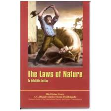 THE LAWS OF NATURE by SARASWATHI GOSWAMY MAHARAJ