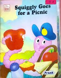 squiggly goes for picnic