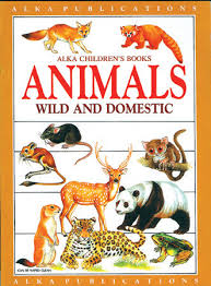 Alka children's book animals wild and domestic