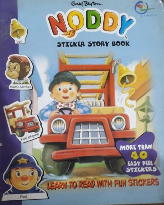 Noddy - Sticker Story Book