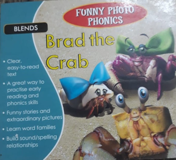 Funny Photo Phonics - Brad the Crab