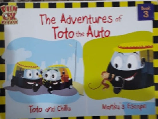 The Adventures if Toto the Auto book 3 Manku's Escape