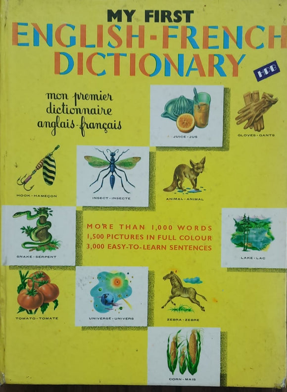 English French dictionary published in 1975