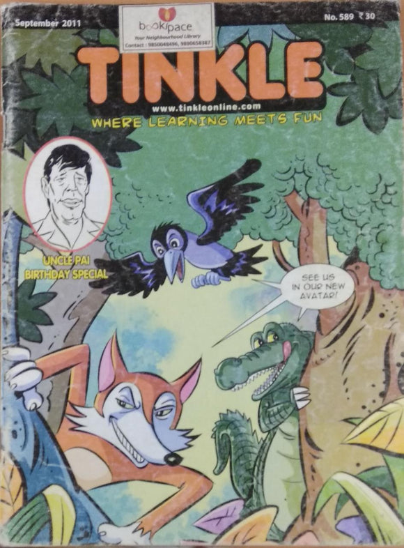 Tinkle September 2011 no 589