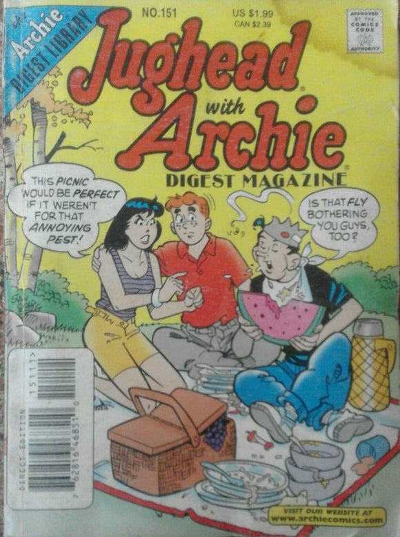 Jughead With Archie Digest Magazine