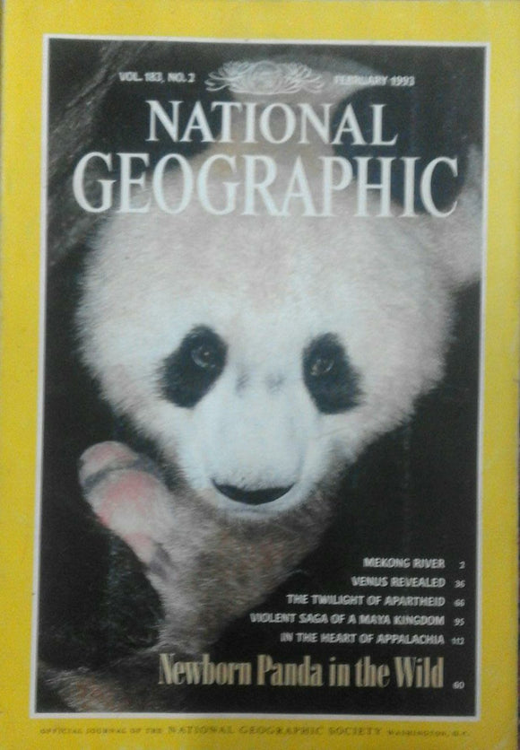 National Geographic Feb 1993