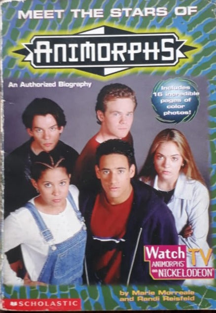 Animorphs - Meet the stars An Authorised Biography Includes 16 incredible pages of color photos