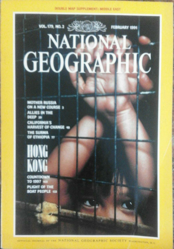 National Geographic Feb 1991