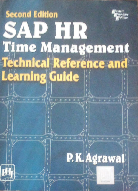 Second Edition Sap Hr Time Management By P K Agrawal