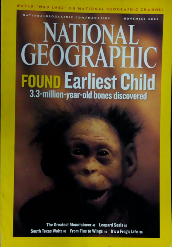 National Geographic November 2006