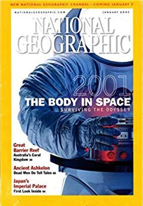 National Geographic January 2001