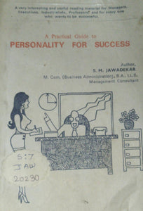 Personality For Success By S M Jawadekar