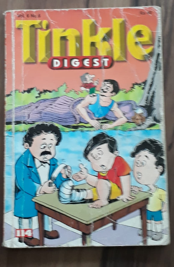 Tinkle Digest - Vol 6 No 6 114