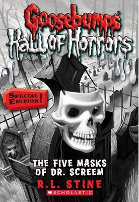 Goosebumps Hall of Horrors #16: The Five Masks of Dr. Screem