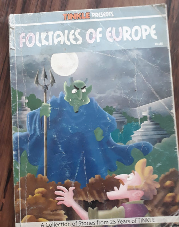 Tinkle - Folk tales of Europe collection of stories from 25 years of tinkle