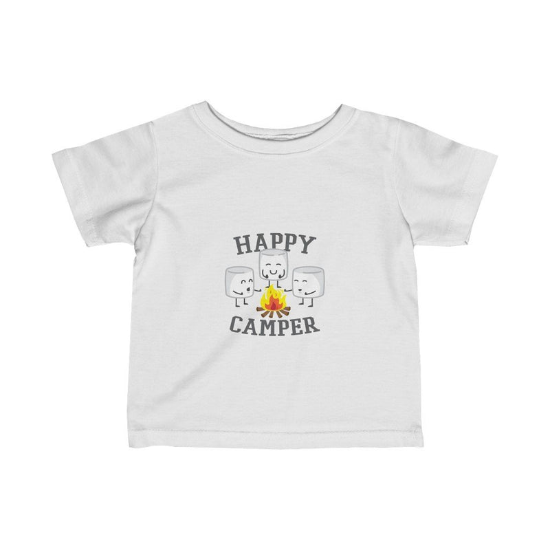 Happy Camper Marshmallows Toddler Tee - Upstart Clothing Company