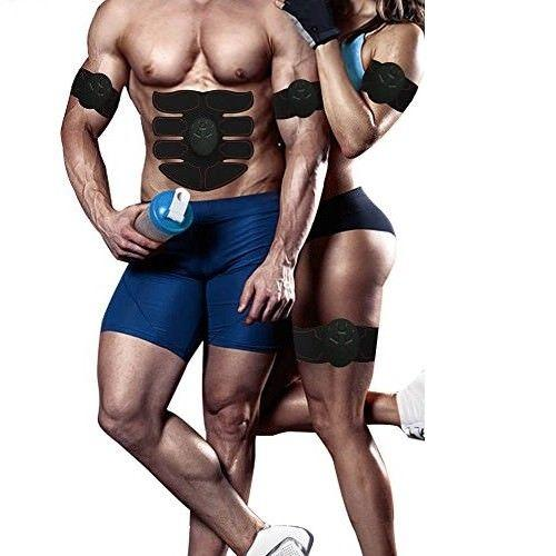 Wireless EMS Abs Stimulator Muscle Toner for Men & Women - Upstart Clothing Company