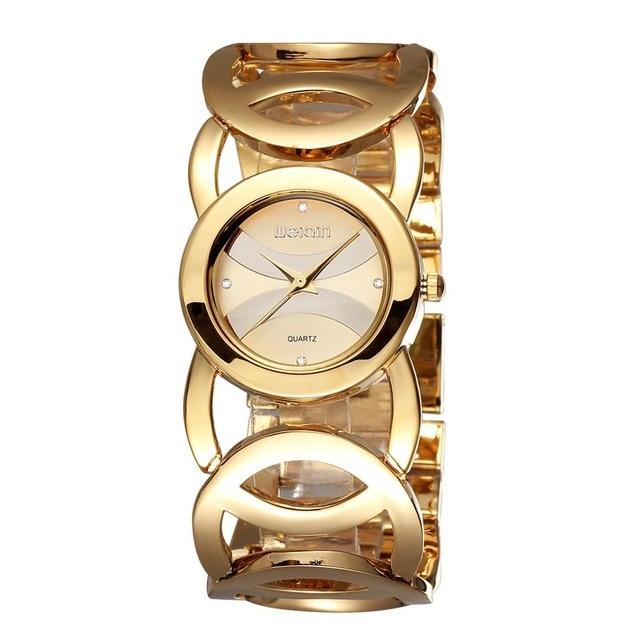 Luxury Crystal Gold Watches - Upstart Clothing Company
