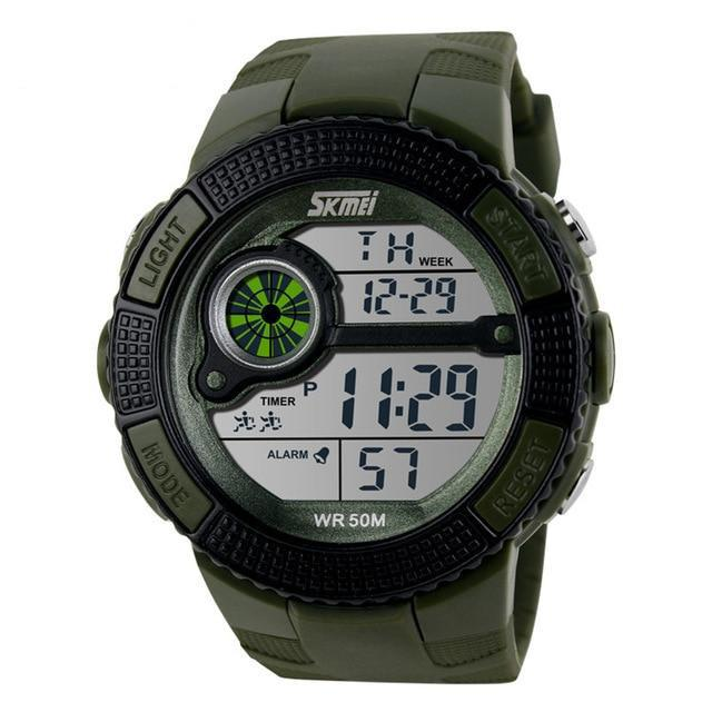 LED Digital Watch Military Watch - Upstart Clothing Company