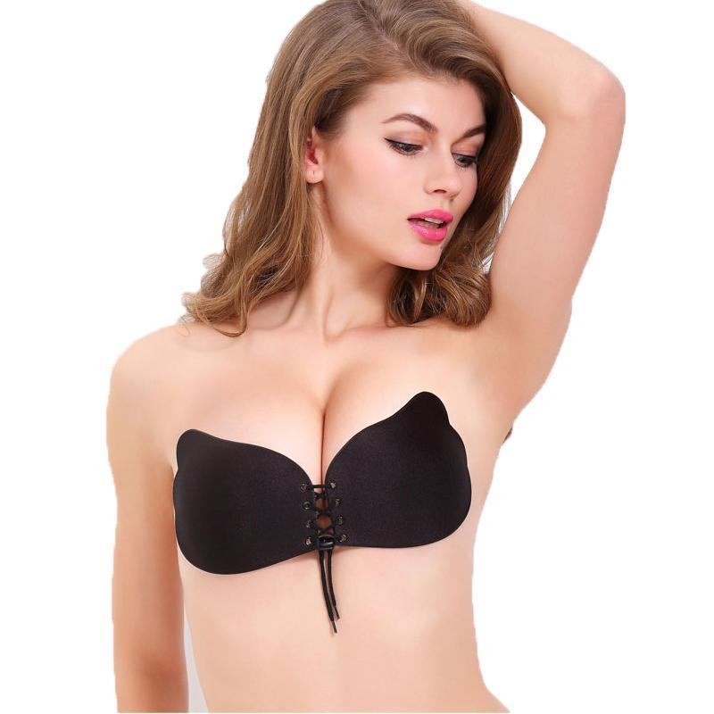 Pull Them Together Invisible Bra - Black - Upstart Clothing Company