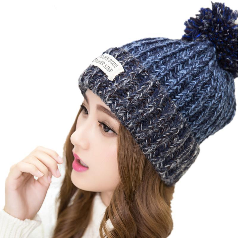 Woman's Winter Knitted Hat - Upstart Clothing Company