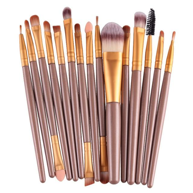 Eye Shadow Foundation Makeup Brushes Set - Upstart Clothing Company