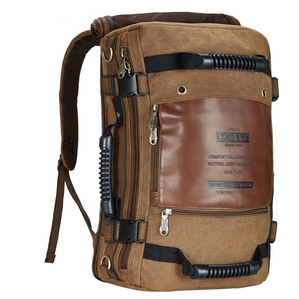 Canvas Backpack - Upstart Clothing Company