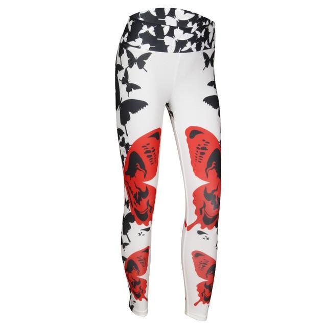 Butterfly Print Leggings - Upstart Clothing Company