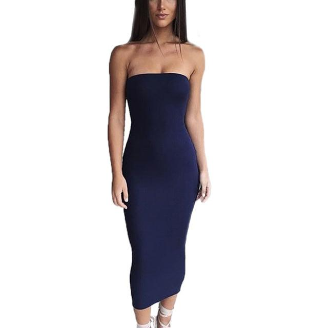 Hold Me Strapless Tube Dress - Upstart Clothing Company