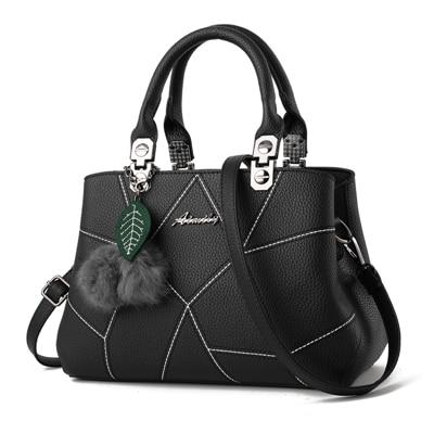 Sequined Geometric Plush Ball Handbag - Upstart Clothing Company