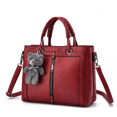 Totes Zipper Bear Strap Handbag - Upstart Clothing Company
