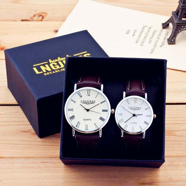 Roman Numerals Waterproof Couple Watch - Upstart Clothing Company