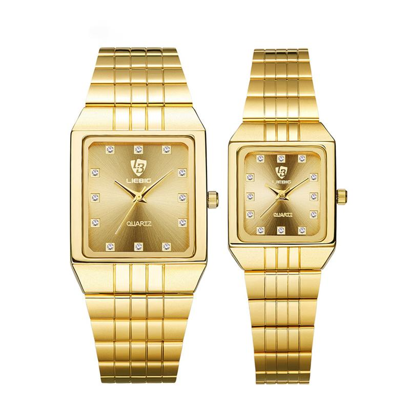 Luxury Gold Bracelet Couple Watches - Upstart Clothing Company