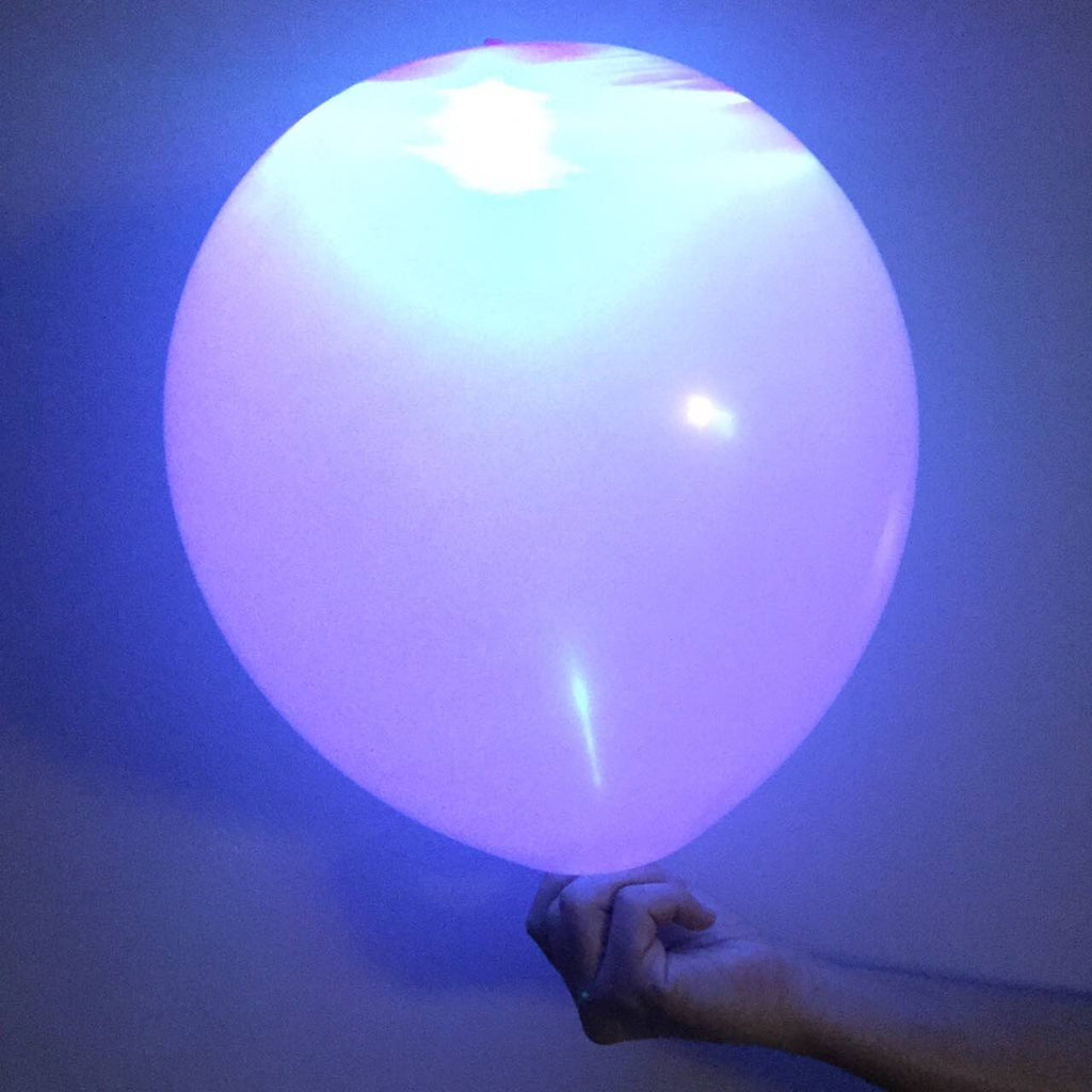 "Glow Balloons 12"" (pack of 5 assorted colors)"