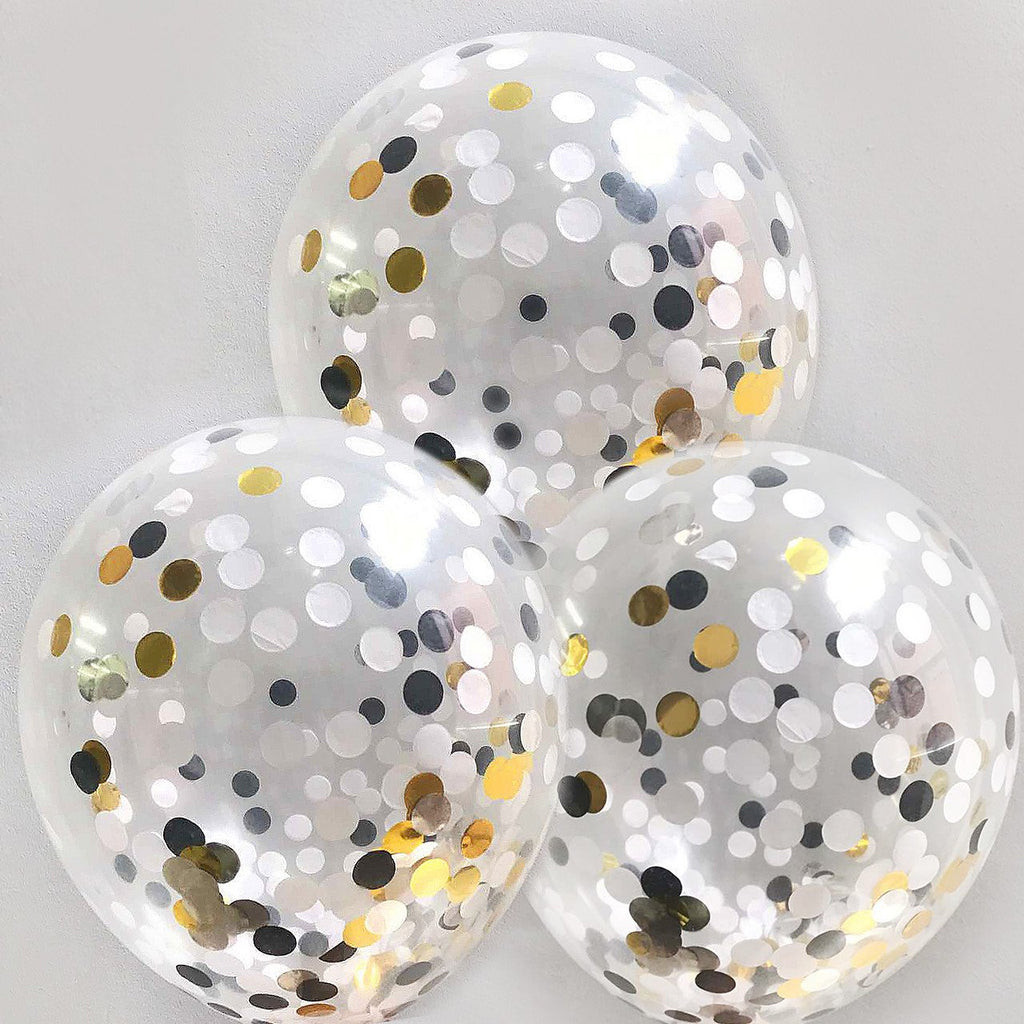 "DIY Hollywood Confetti Balloons 12"" (Pack of 3)"
