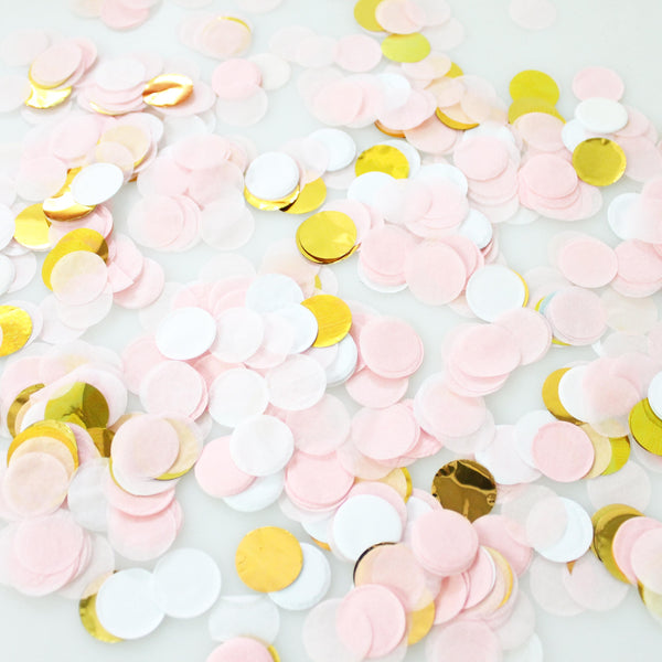 Party On Blush Confetti
