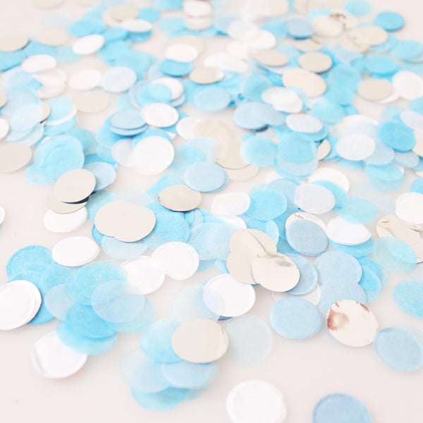 Party On Blues Confetti