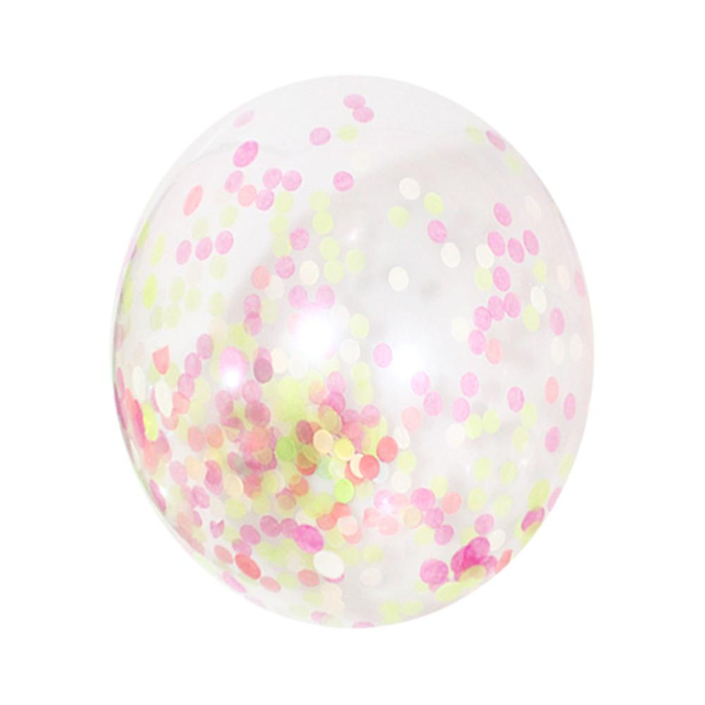 "Spring Pastel Confetti Balloons 12"" (Pack of 3)"