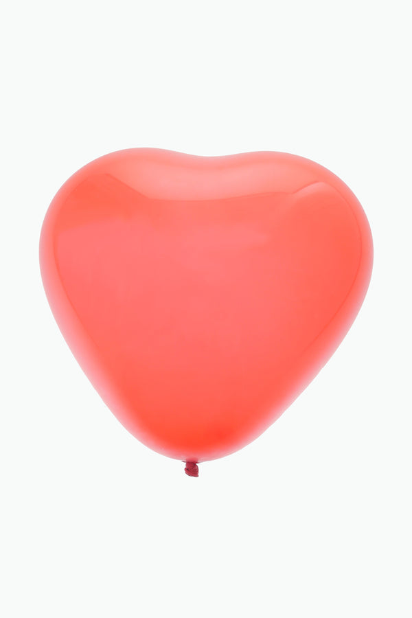 "Red Sweetheart Balloons 10"" (Pack of 10)"