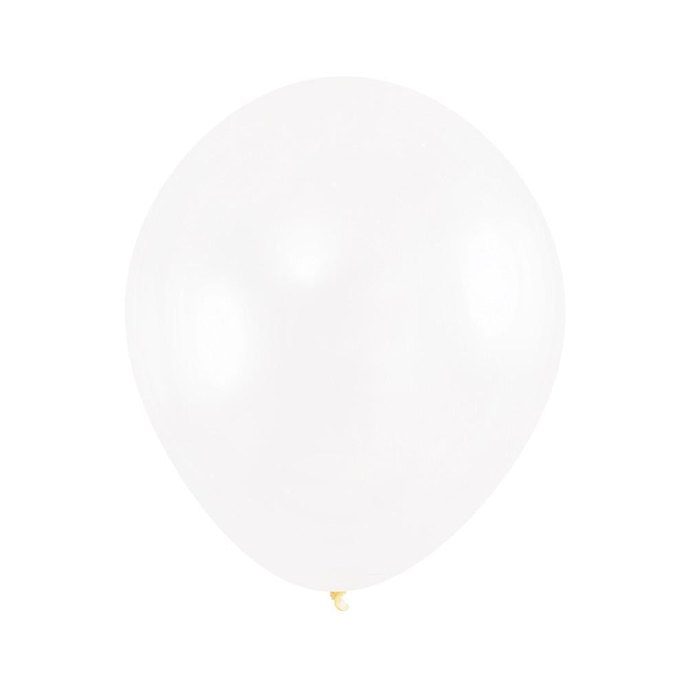 "Clear Latex Balloons 12"" (10 ct)"